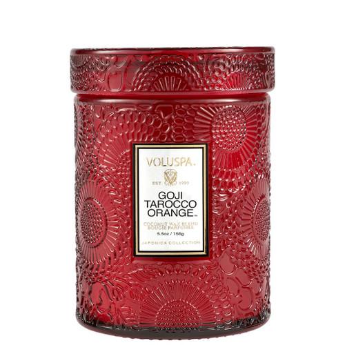 Goji Tarocco Orange Small Glass Jar Candle 5.5oz