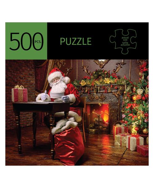 Santa Design Puzzle 500 Pieces