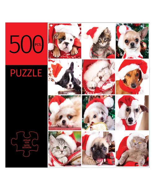 Holiday Pet Design Puzzle 500 Pieces