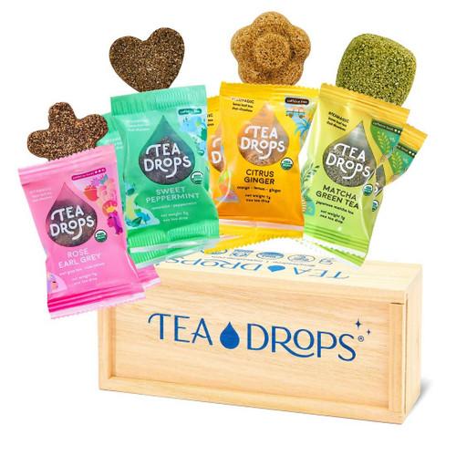 Classic Assortment Wooden Box - Tea Drops