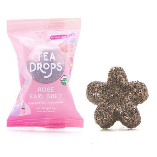 Tea - Single Serve Tea Drops - Rose Earl Grey