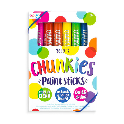 12 pack of Chunkies Paint Sticks