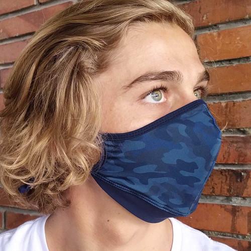 Navy Camo Assorted Mana Mask Carbon Filter