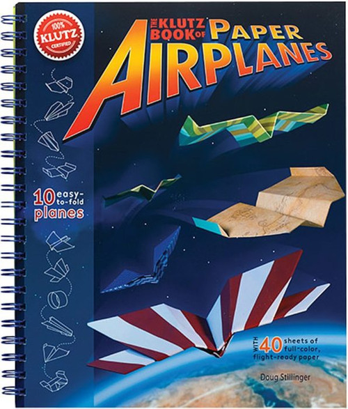 Paper Airplane Book by Klutz