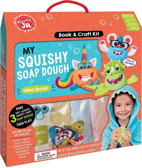 Klutz Jr. Squishy Soap Dough Kit