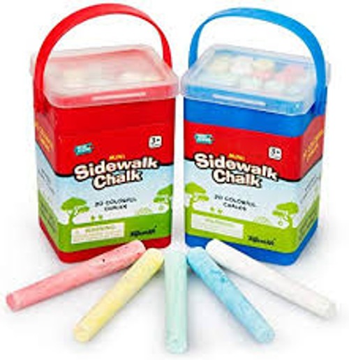 Mini Sidewalk Chalk 20 pieces