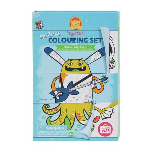 Monster Mash - Mash-Up Coloring Set