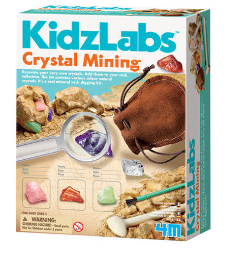 4M KidzLabs Crystal Mining Kit