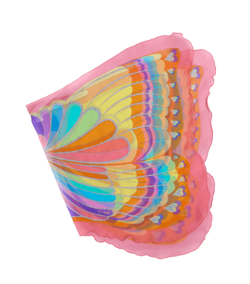 Pink Rainbow Fairy Wings