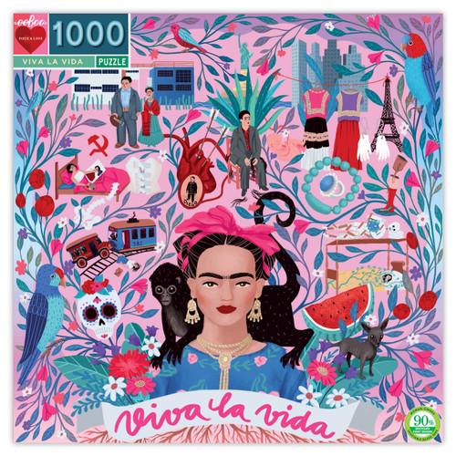 Viva la Vida Frida Puzzle by Eeboo