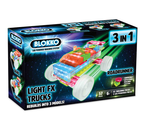 Blokko Trucks 3 in 1 set