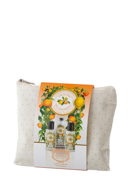 Travel Pouch Orange Blossom