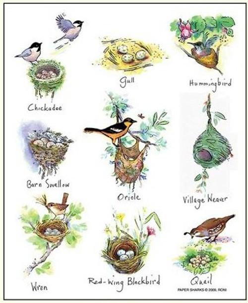 Birds Nest Towel