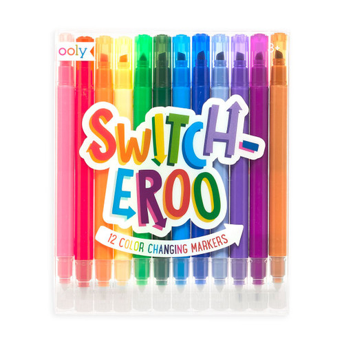 Switch-Eroo 12 Color Changing Markers