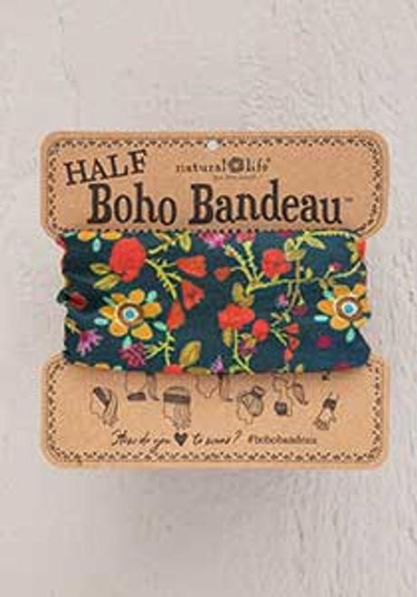 Forest Flowers Half Boho Bandeau BBW212