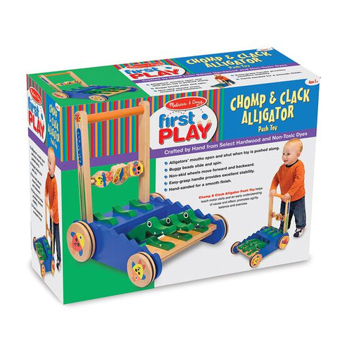 Chomp, Chomp, Alligator Push Toy