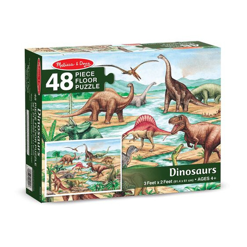 Dinosaurs Floor Puzzle 48 piece