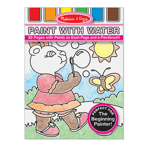 Paint with Water - Fairies, Animals & More