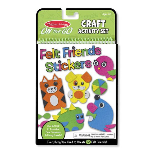 Felt Friends Stickers