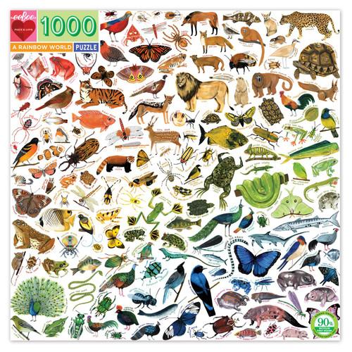 Rainbow World 1000 pc puzzle