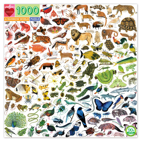 Rainbow World 1000 pc puzzle