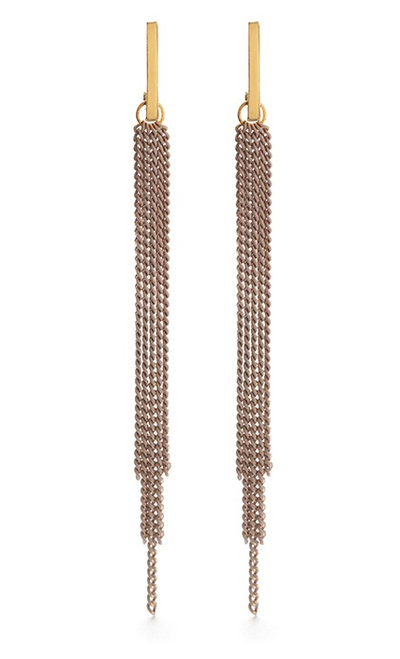 Chain Duster Studs-Taupe