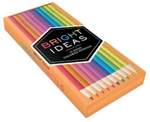 Bright Ideas 10 Neon Colored Pencils