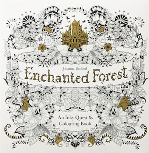 - Enchanted Forest Coloring Book - Jenny K. Gifts