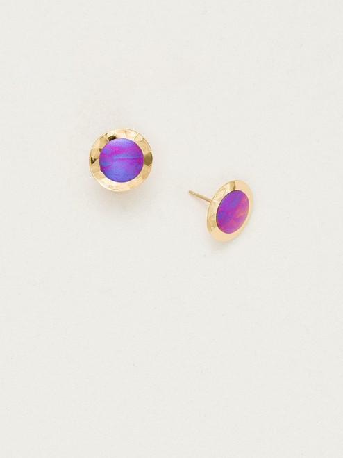 Orchid Lulu Post Earrings
