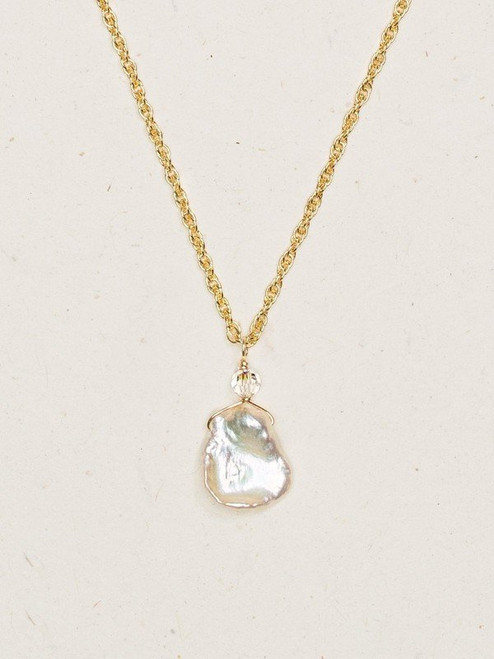 Blush / Gold Margo Necklace