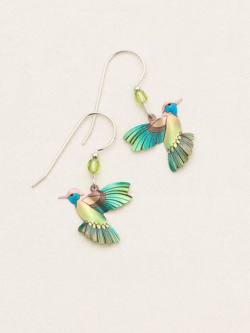 Island Green Picaflor Earrings