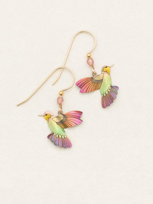 Living Coral Picaflor Earrings