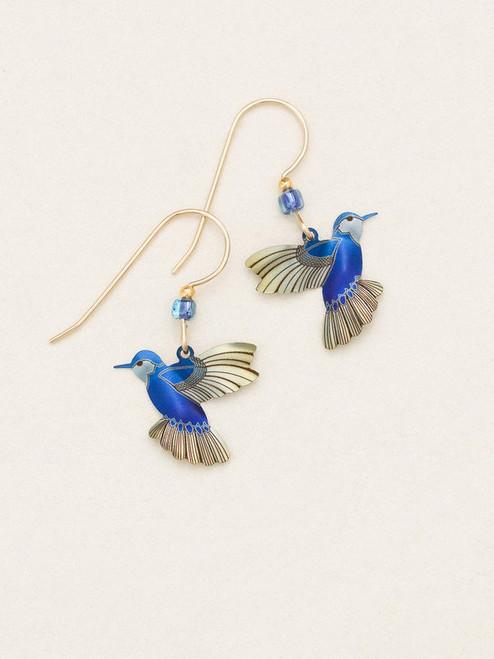 Blue Radiance Picaflor Earrings