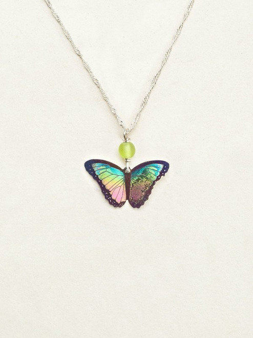 Island Green Bella Butterfly Pendant Necklace