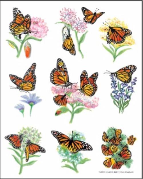 Monarch Butterflies Towel
