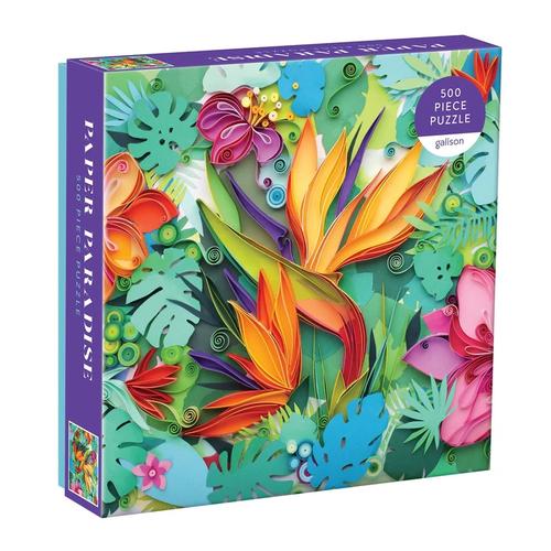 Paper Paradise 500 pc puzzle