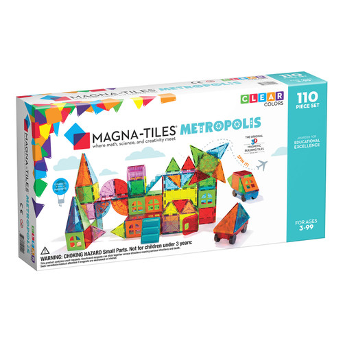 Magna-Tiles Metropolis 110 pc Set