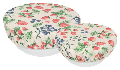 Bowl Cover Set of 2 Berry Patch