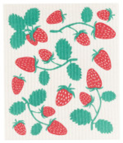 Strawberries Swedish Dish Cloth