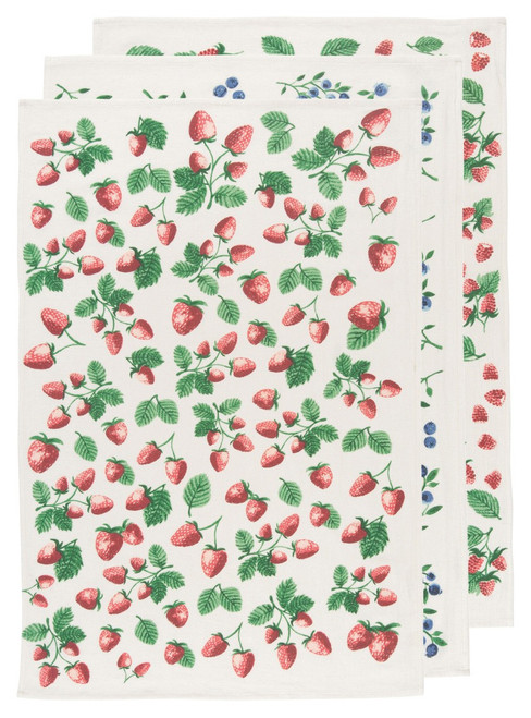 Berry Patch Bakers Floursack Set of 3