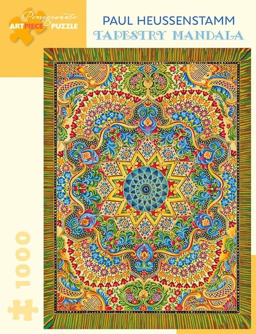 Paul Heussenstam: Tapestry Mandala 1000 piece Jigsaw Puzzle