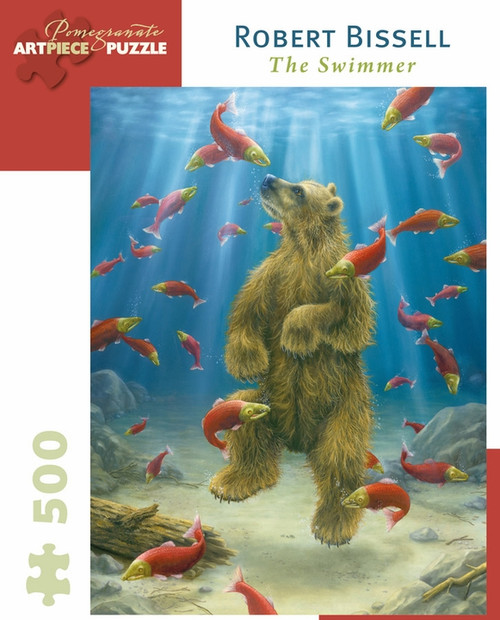 Robert Bissell: The Swimmer 500 piece Jigsaw Puzzle