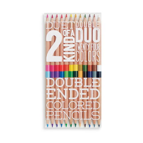Two of a Kind Double Ended Pencils