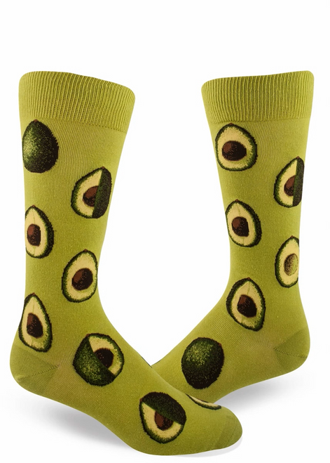 Men's Avocado Crew Socks