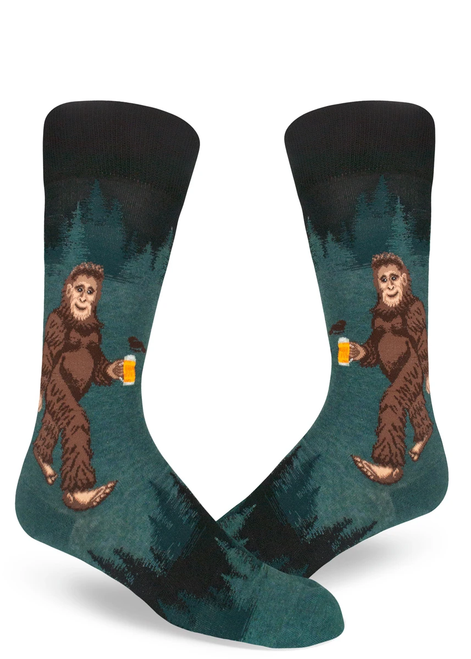 Men's Sasquatch Crew Socks