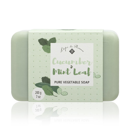 Cucumber & Mint Leaf Triple Milled European Soap