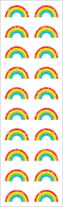 Small Rainbow Stickers