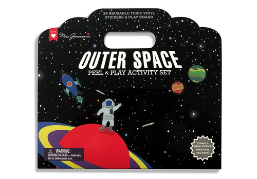 Outer Space Peel & Play Sticker Set
