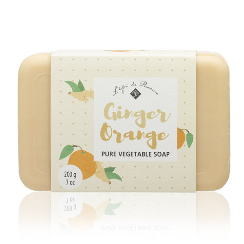 Ginger Orange Triple Milled European Soap