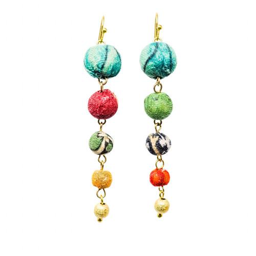 Evolving Kantha Earrings